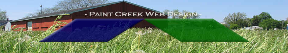 Paint Creek Web Design Seasonal Image